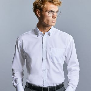 Russell Collection - Men's Long Sleeve Ultimate Non-Iron Shirt - J956M