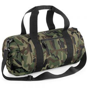 BagBase - Camo Barrel Bag - BG173
