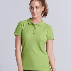 Gildan - Women's Premium Cotton Double Pique Polo Shirt - GD73