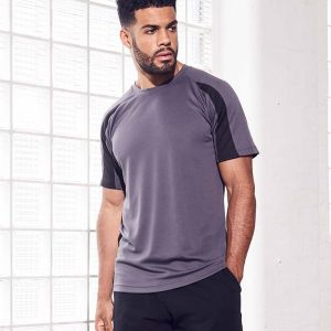 Just Cool by AWDis - Contrast Wicking T-Shirt - JC003