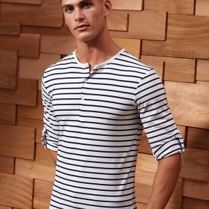 Premier - Long John Roll Sleeve T-Shirt - PR218