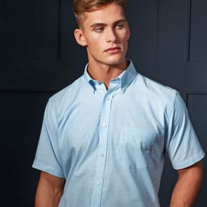 Premier - Signature Short Sleeve Oxford Shirt - PR236