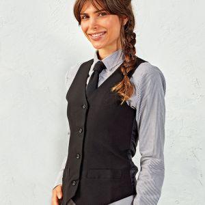 Premier - Ladies Lined Waistcoat - PR623
