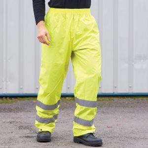 Portwest - Hi-Vis Rain Trousers - PW012