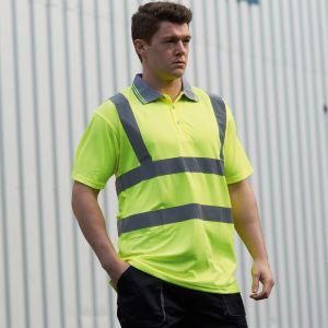Portwest - Hi-Vis Short Sleeve Polo Shirt - PW061