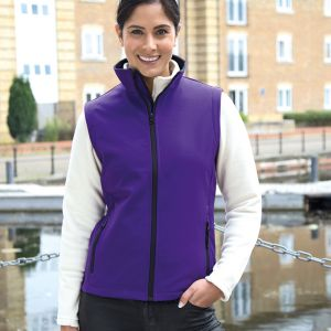 Result - Core - Ladies Printable Soft Shell Bodywarmer - RS232F