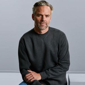 Russell - Authentic Melange Sweatshirt - J260M