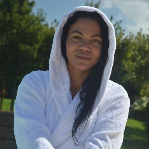 ARTG - Organic Bathrobe With Hood - AR027