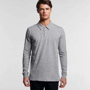 AS Colour - Men's Chad Long Sleeve Polo Shirt - AS5404