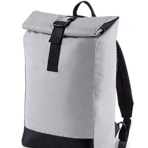 BagBase - Reflective Roll-Top Backpack - BG138