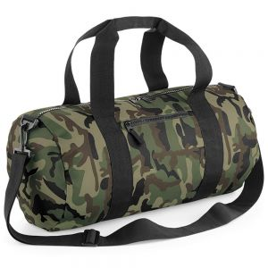 BagBase - Camo Barrel Bag - BG173
