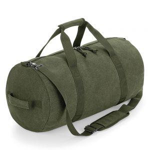 BagBase - Vintage Canvas Barrel Bag - BG655