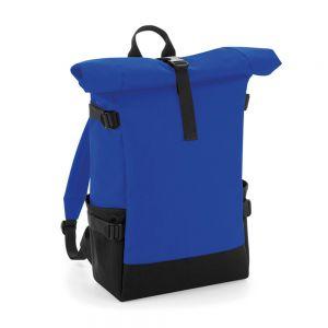 BagBase - Block Roll-Top Backpack - BG858