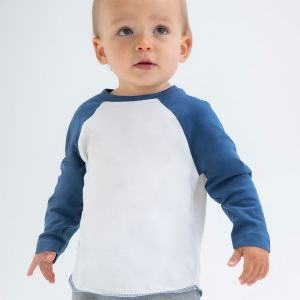 Babybugz - Baby Long Sleeve Baseball T-Shirt - BZ43