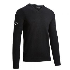 Callaway - Ribbed V-Neck Merino Sweater - CW076