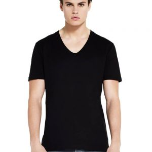 Earth Positive - Men's Organic V Neck T - EP03V