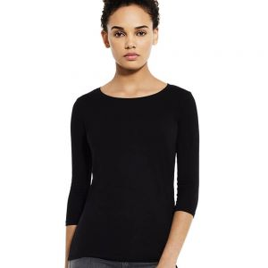 Earth Positive - Women's 3/4 Sleeve Stretch T - EP07