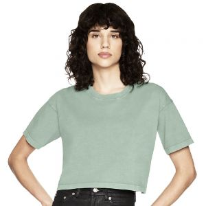 Earth Positive - Women's Cropped Loose Fit T-shirt - EP26