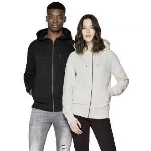 Earth Positive - Classic Heavy Zip-up Hoodie with Side Pockets - EP61Z