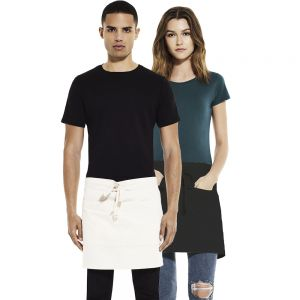 Earth Positive - Unisex Short Apron with Pockets - EP78