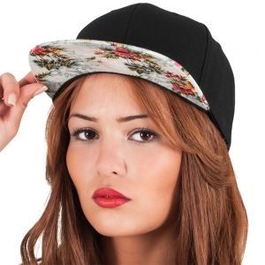 Flexfit by Yupoong - Floral Snapback Cap - F6089F