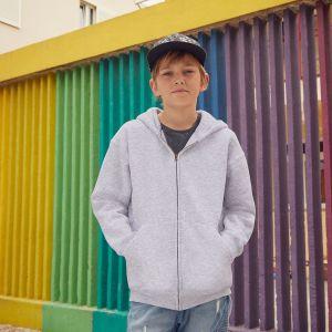 Fruit of the Loom - Premium 70/30 Kid's Hooded Sweat Jacket - F62-035-0