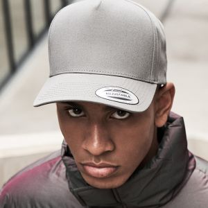 Flexfit by Yupoong - 5 Panel Curved Classic Snapback Cap- F7707