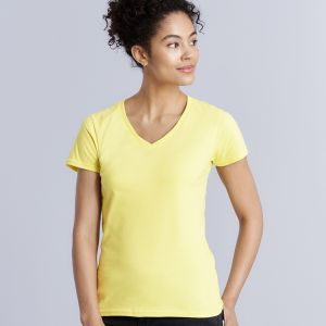 Gildan - Women's Premium Cotton V-Neck T-Shirt - GD91