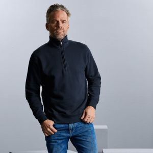 Russell - Ladies' Authentic Quarter Zip Sweatshirt - J270M