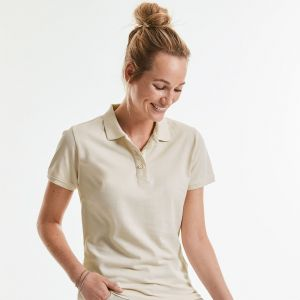 Russell - Ladies' Pure Organic Polo - J508F