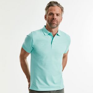 Russell - Men's Pure Organic Polo - J508M