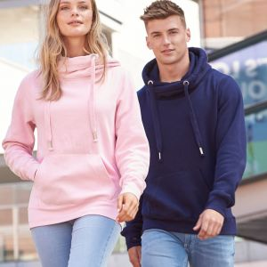Just Hoods by AWDis - Cross Neck Hoodie - JH021