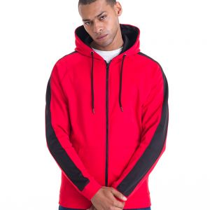 Just Hoods by AWDis - Contrast Sports Polyester Zoodie - JH066