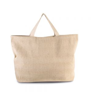 Kimood - Rustic Jute Large Shopper Bag - KI0260