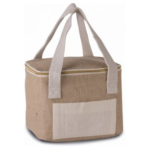 Kimood - Small Jute Cool Bag - KI0352