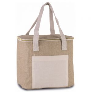 Kimood - Medium Jute Cool Bag - KI0353