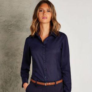 Kustom Kit - Ladies Long Sleeve Business Shirt - KK743F
