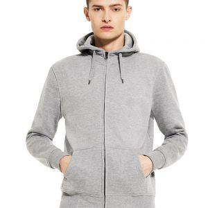 Continental - Men's High Neck Zip Up Hoody - N52Z