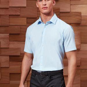 Premier - Short Sleeve Stretch Fit Poplin Shirt - PR246