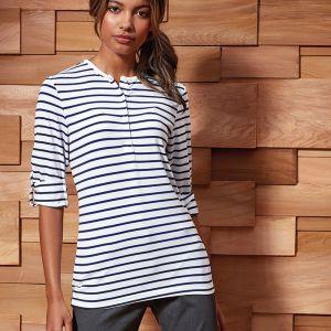 Premier - Ladies Long John Roll Sleeve T-Shirt - PR318