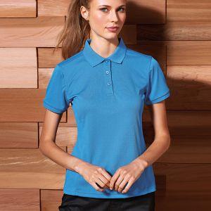 Premier - Ladies Coolchecker Plus Pique Polo Shirt - PR632