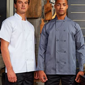 Premier - Short Sleeve Chefs Jacket - PR656