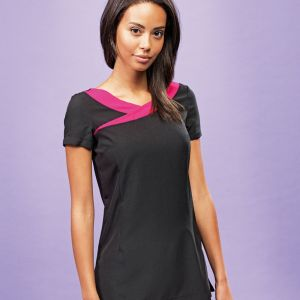 Premier - Ladies Ivy Short Sleeve Tunic - PR691