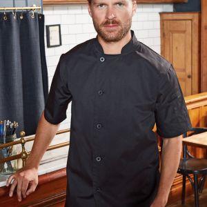 Premier - Essential Short Sleeve Chef's Jacket - PR900