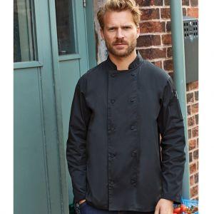 Premier - Coolchecker Long Sleeve Chef's Jacket - PR903