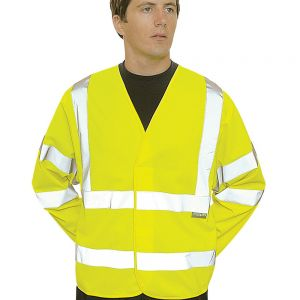 Portwest - Hi-Vis Two Band and Braces Jacket - PW308