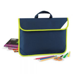 Quadra - Enhanced-Viz Book Bag - QD452