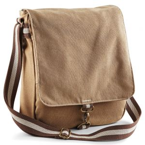 Quadra - Vintage Canvas Messenger - QD611