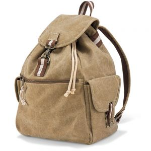 Quadra - Vintage Canvas Backpack - QD612