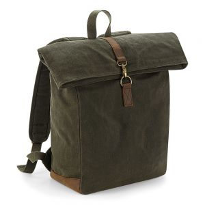 Quadra - Heritage Waxed Canvas Backpack - QD655